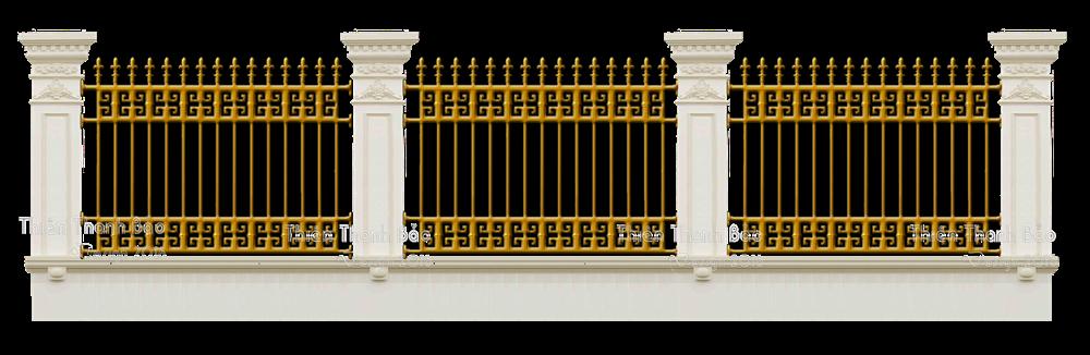 Hàng rào nhôm đúc MQP - HR14